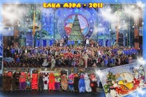 Новогодняя ёлка 2011 года