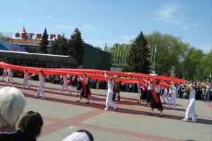 9 мая 2010. Волгодонск
